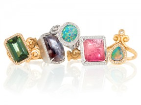 One-of-a-Kind Cocktail Rings