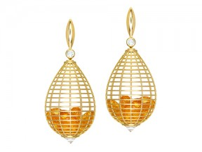Shaker Teardrop Earrings