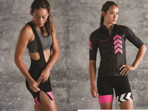 Women's Bib Shorts with Zipper