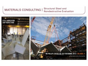 Materials Consulting | Structural Steel and Nondestructive Evaluation