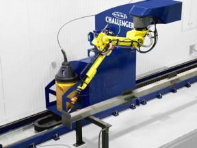 Challenger Structural Steel Robotic Welder