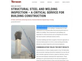 Structural Steel and Welding Inspection