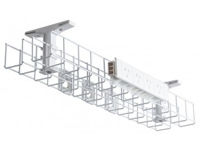 Wire Grid Single & Dual Management Baskets