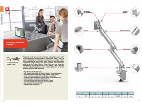 Dynafly LCD Monitor Arm(Heavy Duty)