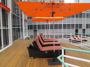 Bimini Chaise and Shademaker Umbrella