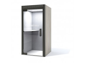 Oasis Berco Linear Phone Booth