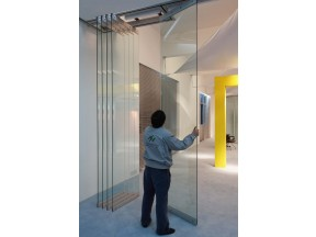 halumm glass movable partition system