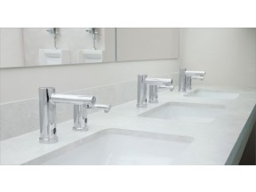 Align M–Power chrome hands free sensor-operated lavatory faucet
