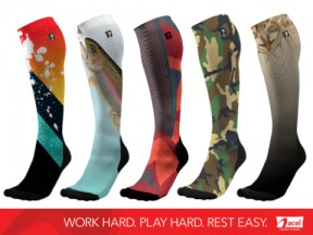 ACEL Performance and Recovery Compression Socks