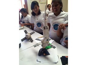 Young women and girls rocket to their futures