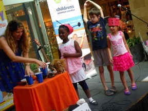 Discover the Science of Music with the Children's Science Center!