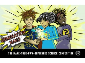 Gen Nano: Small Science, Superheroes