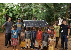 Development of Distributed Off-grid Wind Energy System for Rural African Communities