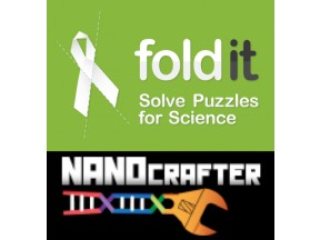Foldit and Nanocrafter