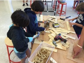 Pop-Up Woodshop