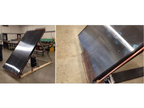 A Novel Dual Purpose Solar Collector Design for Heat and Cold Collection